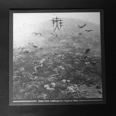 "TORTURE CHAIN ""Across Great Landscapes to a Legacy of Blood"" 12""LP"