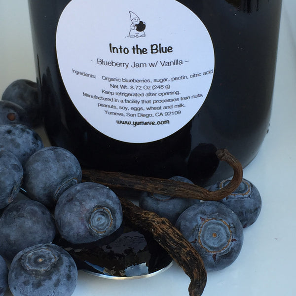 Into the Blue - Blueberry Jam w/ Vanilla