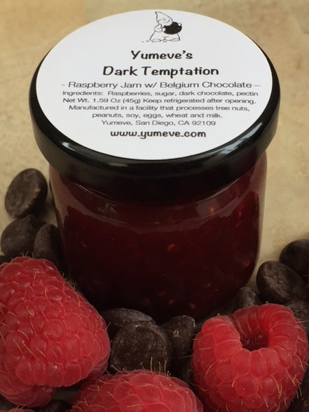Raspberry Chocolate Jam - Dark Temptation