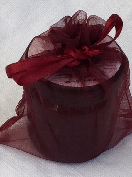 Party favor / Wedding favor -  Personalized Mini Jam in Satin Bag (20 pc)