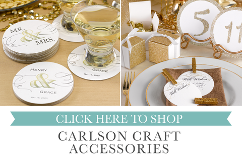 coasters and accessories by maxim creative invites