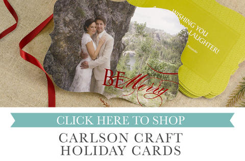 Holiday cards sold by maxim creative invites
