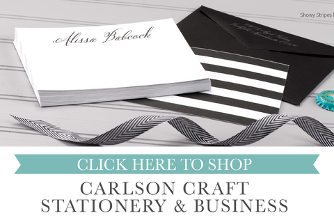 personal and business stationery sold by maxim creative invites