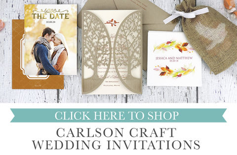Carlson Craft Invitations Save the Dates Accessories Coasters