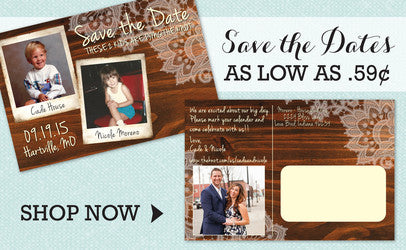 Save the Date Invitations