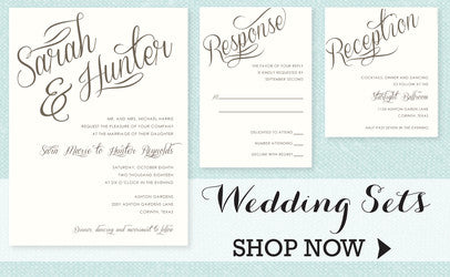 Wedding Invitations by Maxim Creative Invites