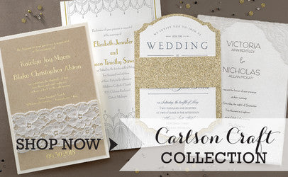 Carlson Craft Collection Sold By Maxim Creative Invites