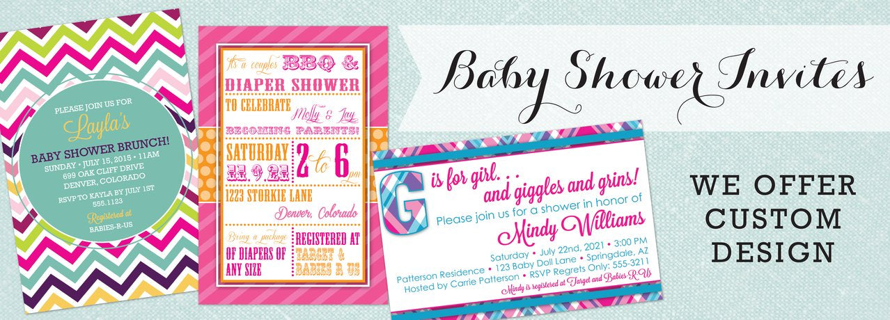 Baby Shower Invitations by Maxim Creative Invites