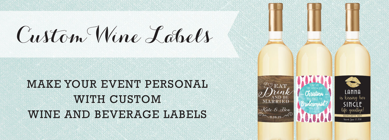 Custom Wine and Beverage Labels