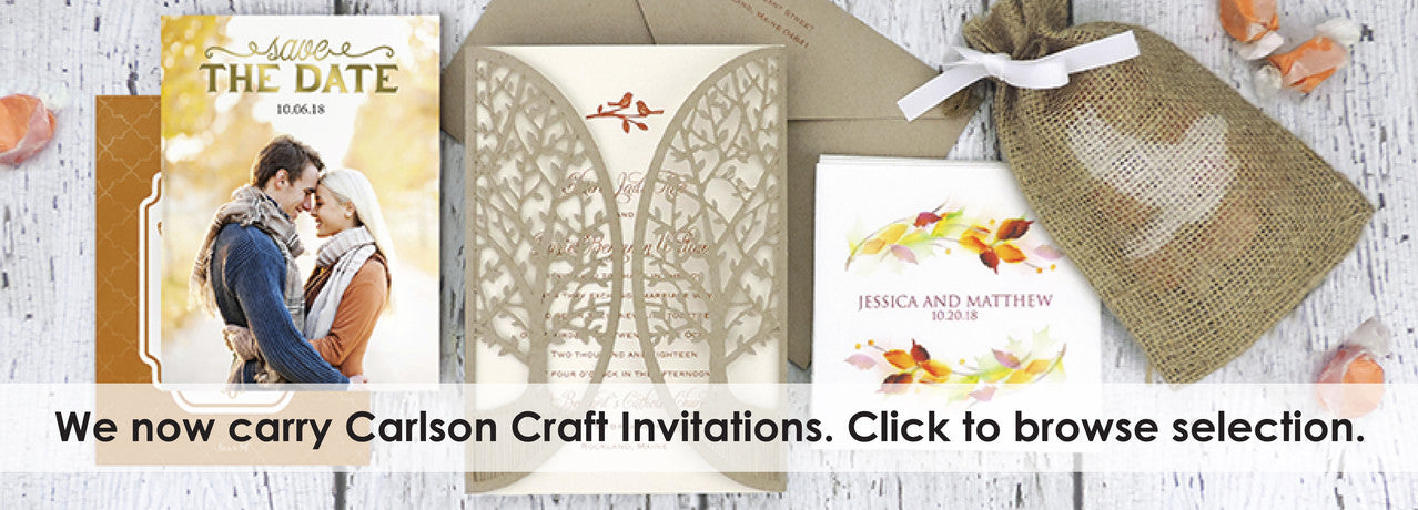 shop carlson craft invitations from maxim creative invites