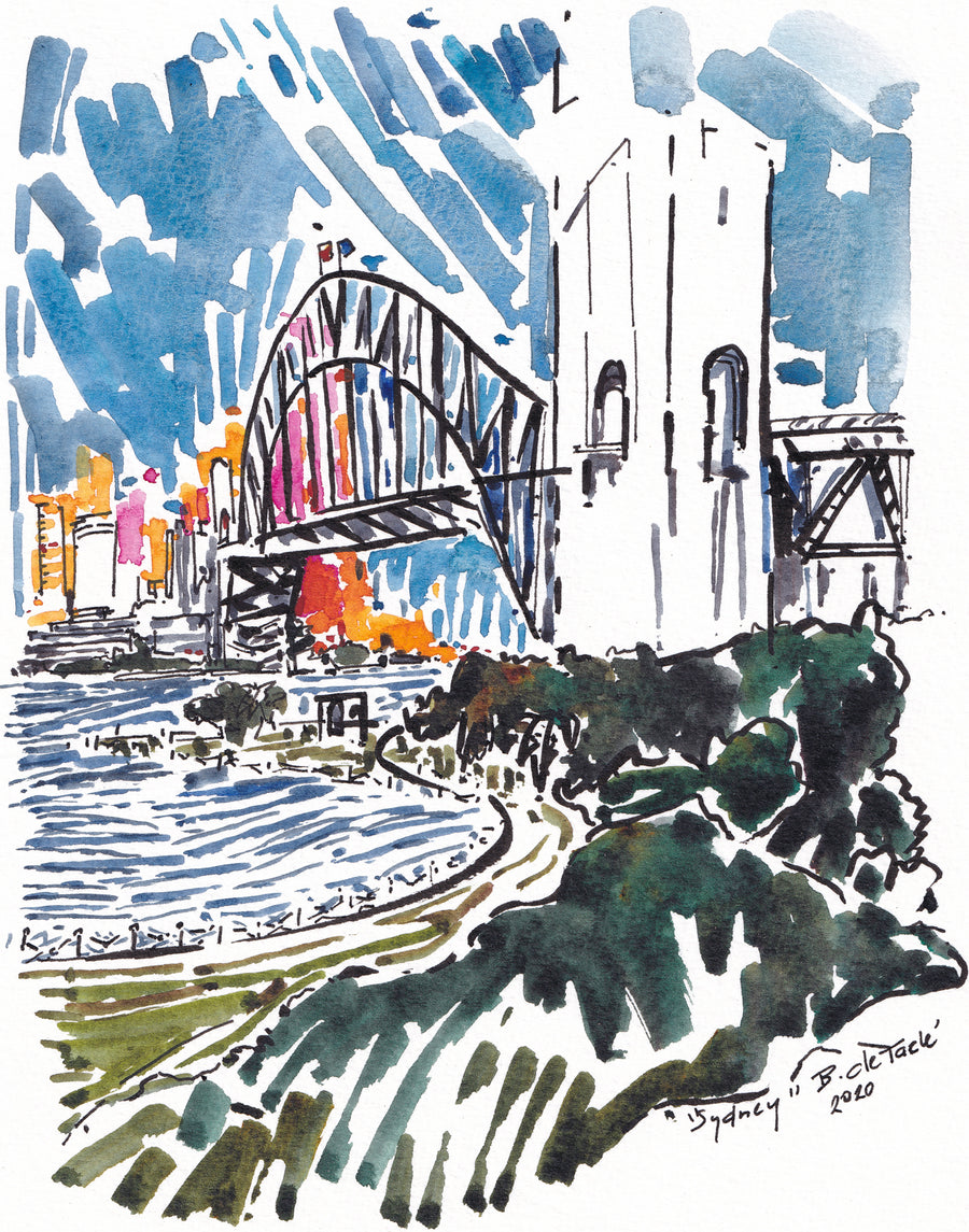 Harbour Bridge Card and Gift Wrapping