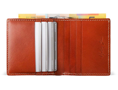 Kerala Classic Leather Wallet (4 Pack)