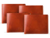 Manhattan Classic Leather Wallet (4 Pack)