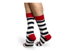 Stripe Sock - Navy
