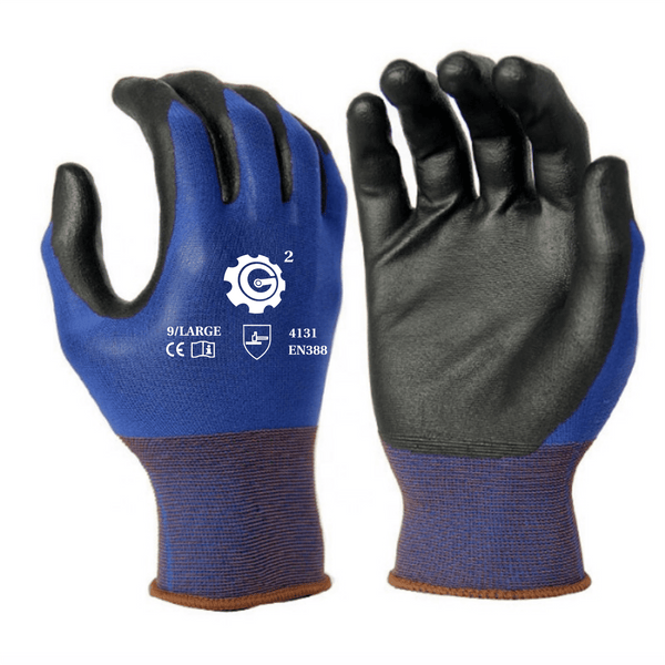Ultra-Thin Polyurethane Coated Nylon Safety WORK GLOVES