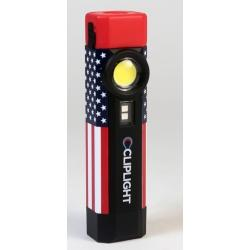 CLIPLIGHT Patriot Rechargeable Light CG111110 - G and G Tools