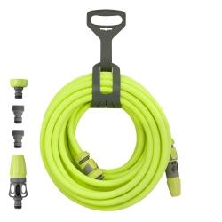LEGACY MANUFACTURING CO Flexzilla 1/2 x 50 Garden Hose Kit w QD, Nozzle MTHFZG12050QN - G and G Tools