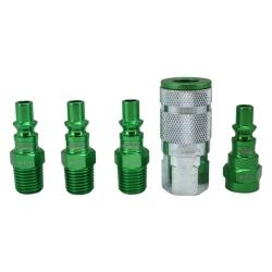 MILTON 5 PC Coupler and Plug Kit MIS-305AKIT