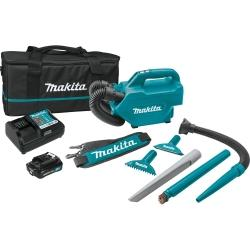 MAKITA Makita 12V max CXT 2.0 Ah Li-Ion Cordless Vacuum Kit MKLC09A1 - G and G Tools