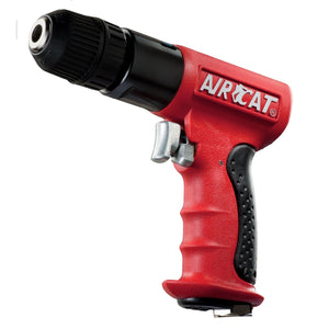 "AIRCAT 3/8"" Reversible Red Composite Drill ACA4338 - G and G Tools"
