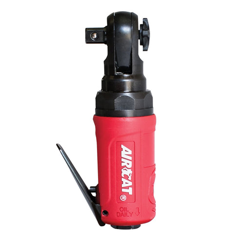 "AIRCAT 3/8"" Mini Ratchet With Socket Quick Release Button ACA807"