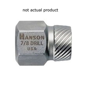 "HANSON 25/32"" Hex Head Multi-Spline Extractor HAN53222"