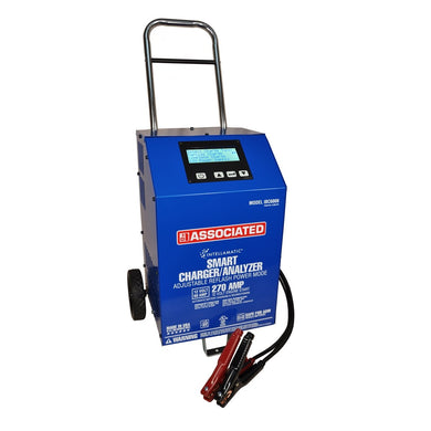 Associated Battery Charger/Analyzer, Variable Intellamatic 60 Amp / 270 ASIBC6008 - G and G Tools