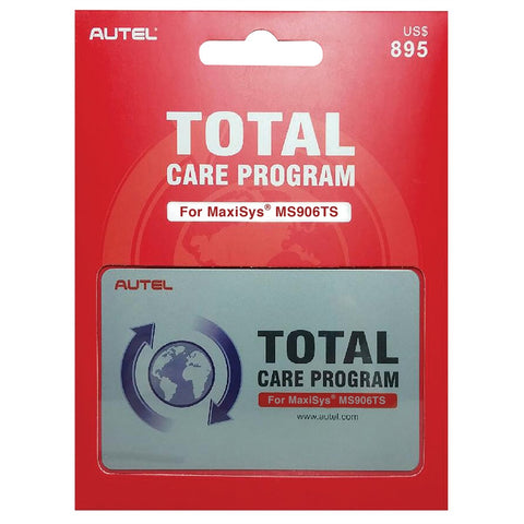 AUTEL MS906TS Total Care Program card 1YR AULMS906TS-1YRUPDATE
