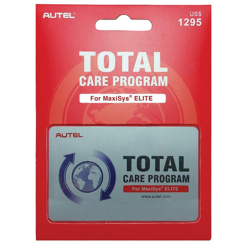 Autel MSEilte Total Care Program card 1YR AU38001995