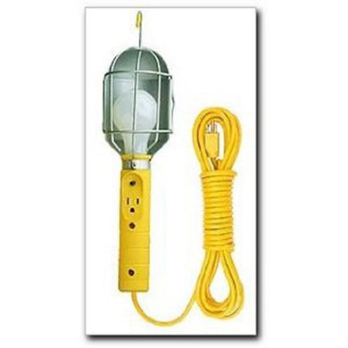 BAYCO Trouble Light 50Ft 18/3 Metal Cage W/Tap BAYSL426 - G and G Tools