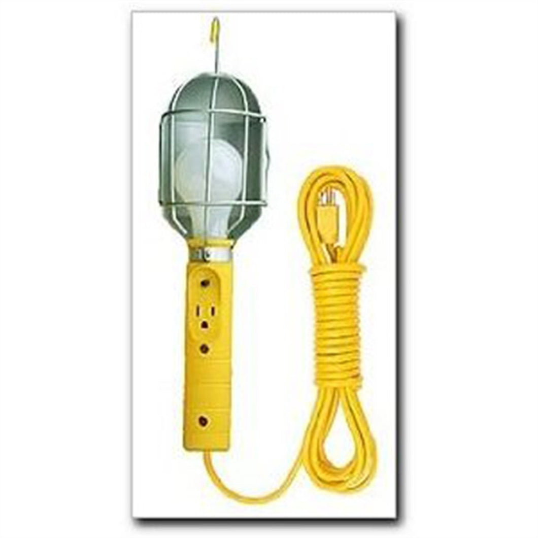 BAYCO Trouble Light 50Ft 18/3 Metal Cage W/Tap BAYSL426