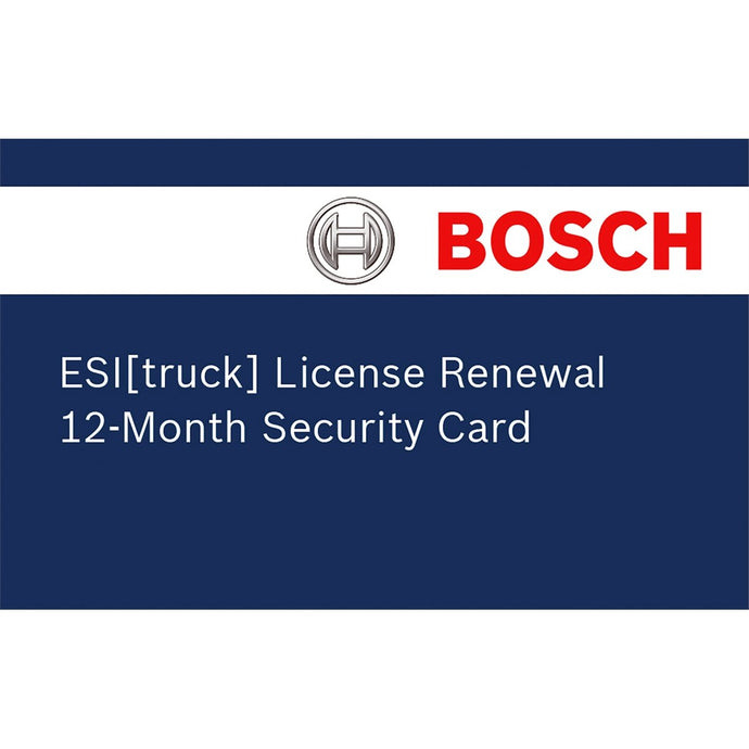 BOSCH Esi Truck Renewal License BOS3824-08 - G and G Tools