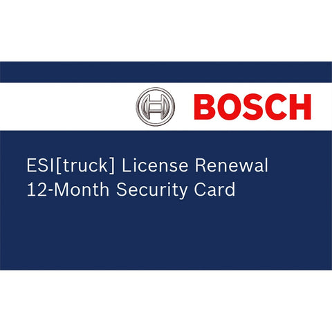 BOSCH Esi Truck Renewal License BOS3824-08