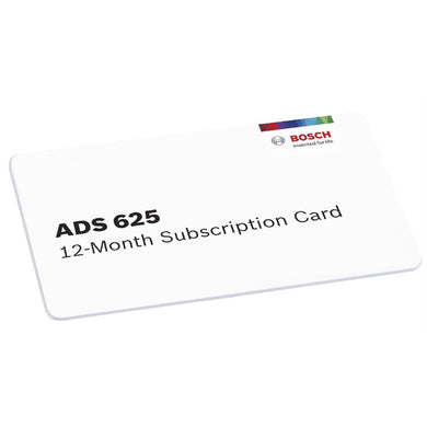 Bosch ADS 625 12-Month Software Subscription BO3970-SUB - G and G Tools