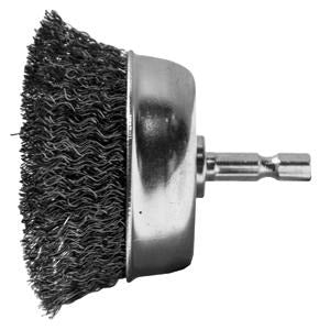 CENTURY DRILL & TOOL 2-3/4 Cup Brush-Crse-Cd CY76221 - G and G Tools