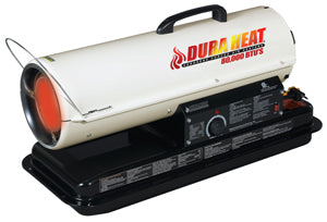 DURA HEAT Heater, 80K BTU Fueled Torpedo Heater with Auto Thermostat DURDFA80T
