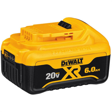 DEWALT TOOLS 20V MAX PREMIUM XR 6.0AH LITHIUM ION BATTERY PACK DWTDCB206