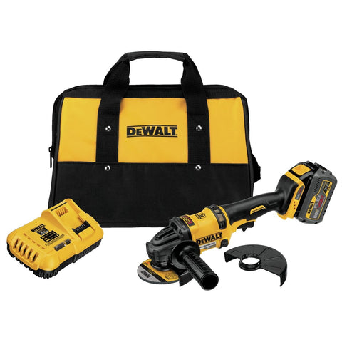 DeWalt FLEXVOLT 60V MAX 6 in. Grinder w/ (1) 20V/60V MAX Battery Kit DWDCG414T1