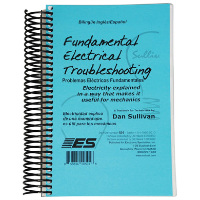 ELECTRONIC SPECIALTIES Fundamental Electrical Troubleshooting W Spanish ESI184
