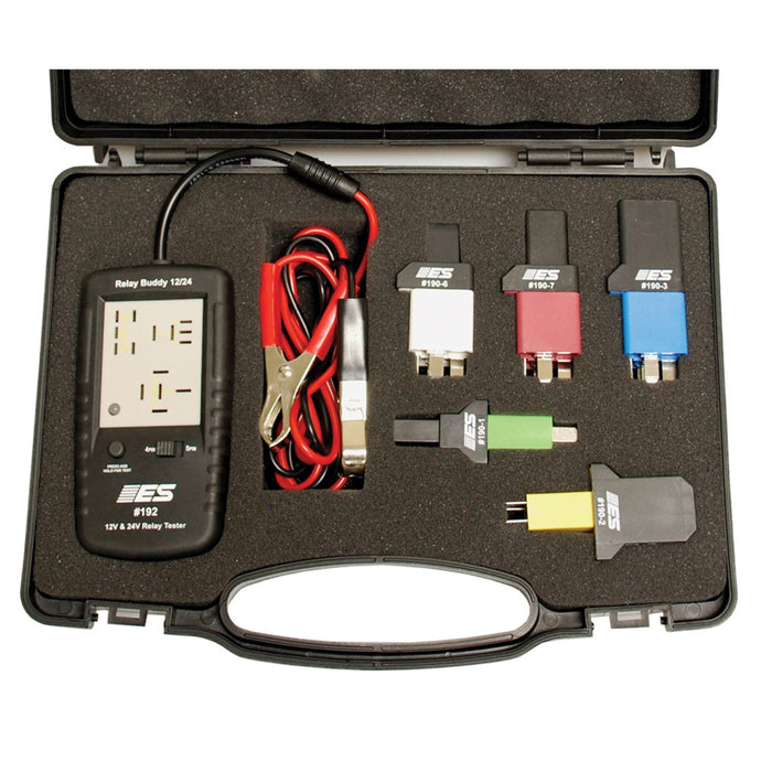 ELECTRONIC SPECIALTIES Diagnostic Relay Buddy 12/24 Pro Test Kit ESI193