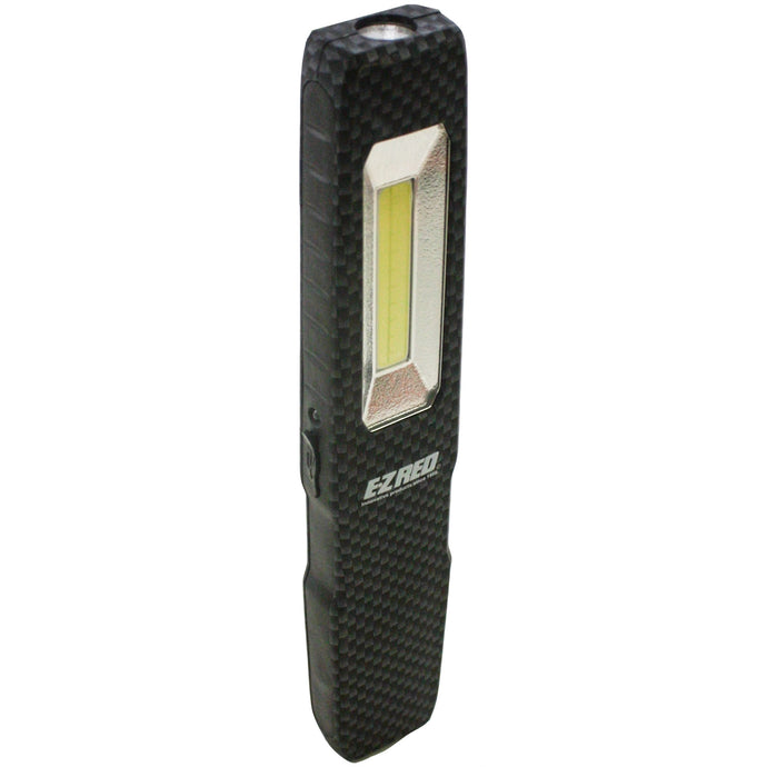 E-Z RED Rechargeable Slim Pocket Light - Carbon Fiber EZRPL175CF