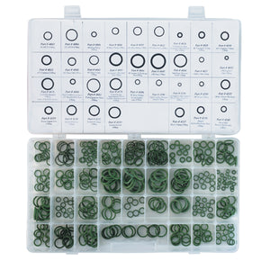 FJC, INC. Deluxe O-Ring Kit 34 Sizes Domestic 350 Pcs FJC4275