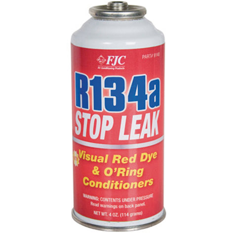 FJC, INC. R134A Stop Leak W/ Red Leak Detection Dye FJC9140