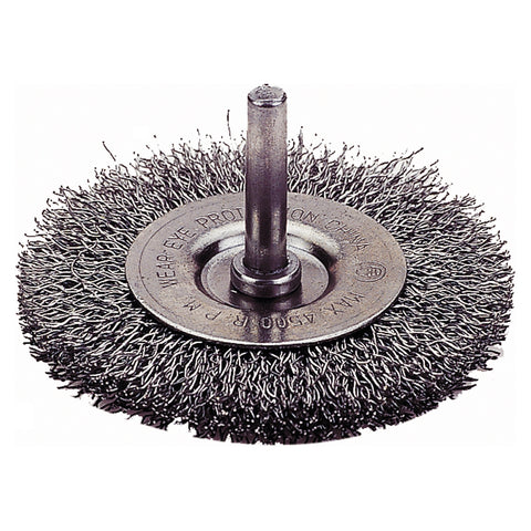 "FIREPOWER Crimped Wire Wheel Brush,3"" FPW1423-2103"
