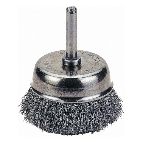 "FIREPOWER Cup Brush, 2 1/2"", Crimped Wire FPW1423-2107"