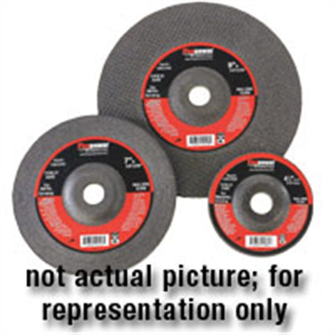 "FIREPOWER 5Pk Grinding Wheel T-27, 4-1/2""X 1/4""X 7/8"",5 Pc FPW1423-2188"