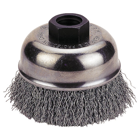 "FIREPOWER Cup Brush 4"" Crimped Wire, 5/8""-11 Nc FPW1423-3158"