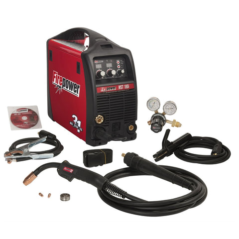 FIREPOWER MST 180i 3-in-1 Mig, Stick, And Tig Welding System FPW1444-0871