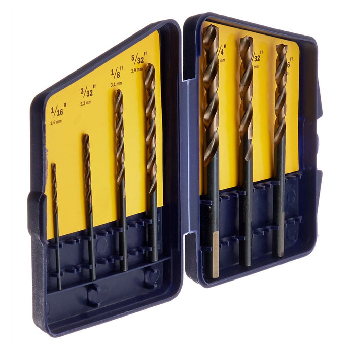 HANSON 7 Pc. Turbomax Drill Bit Set HAN3018012SM