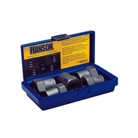 "HANSON Bolt Extractor Set 5Pc 3/4""-1"" W1/2"" Drive HAN54125"